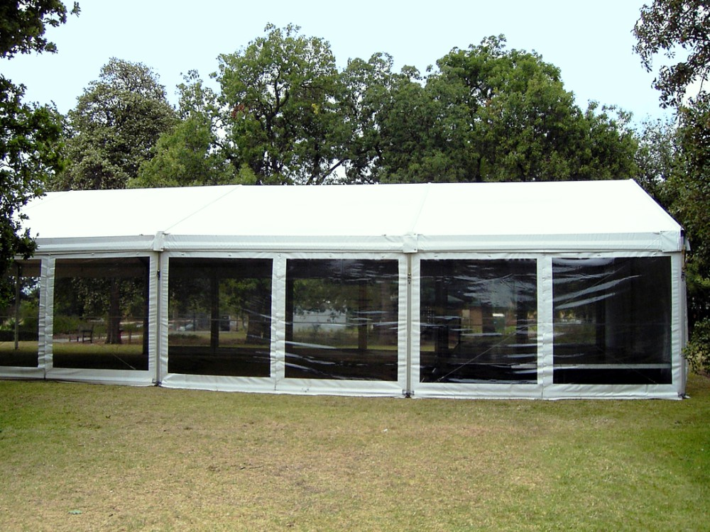 Clear Marquee Walls