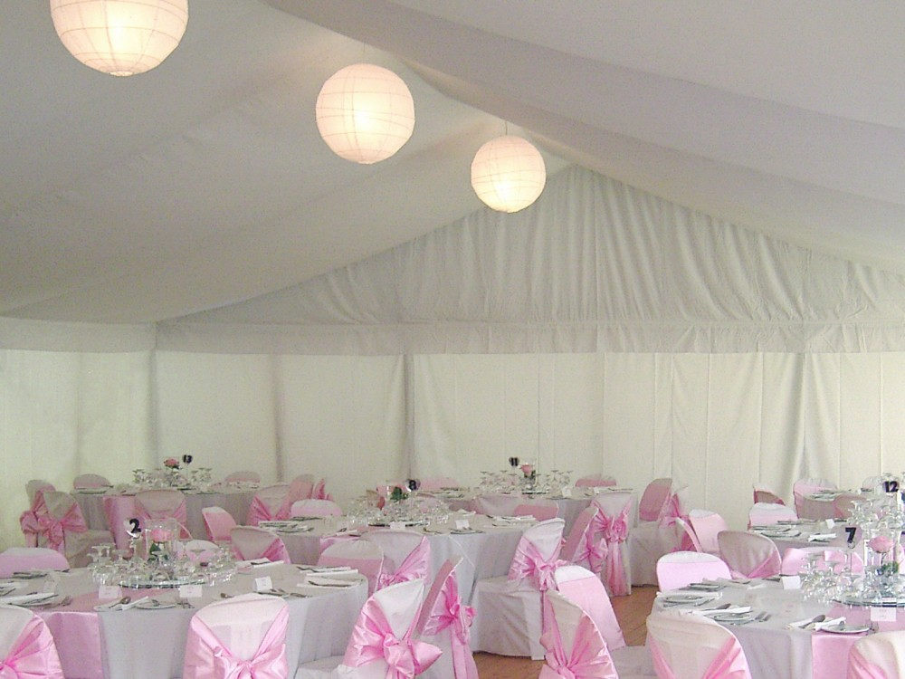 Silken Roof & Wall Linings - Weddings