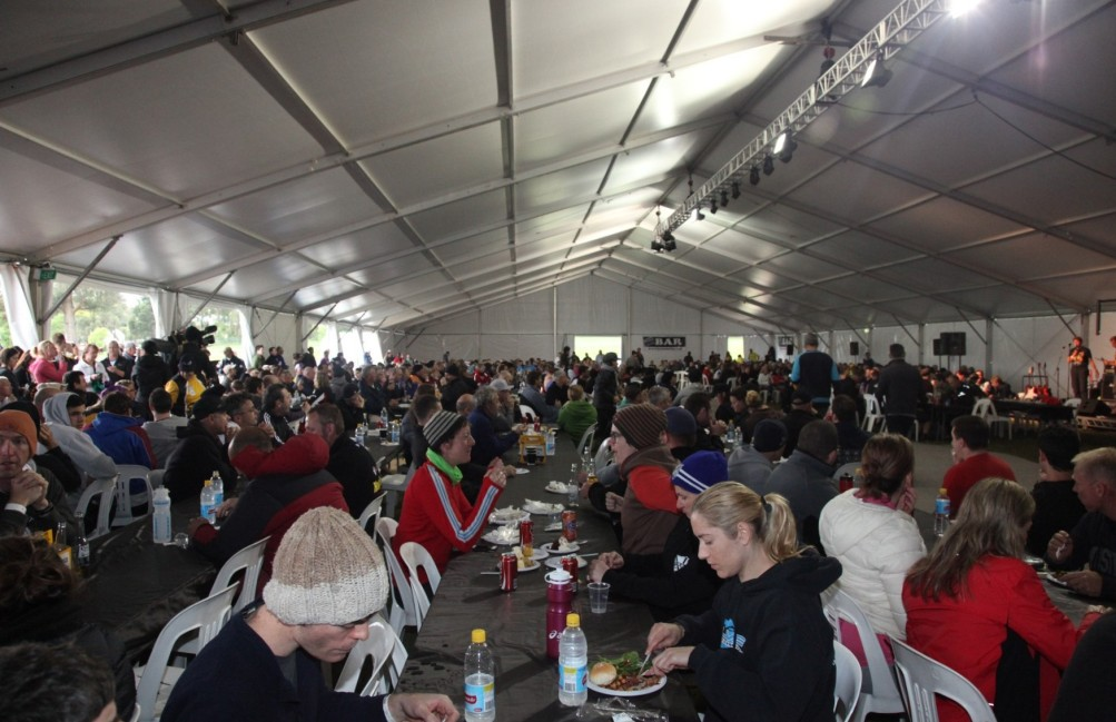 Ride to Conquer Cancer - Dining Hall