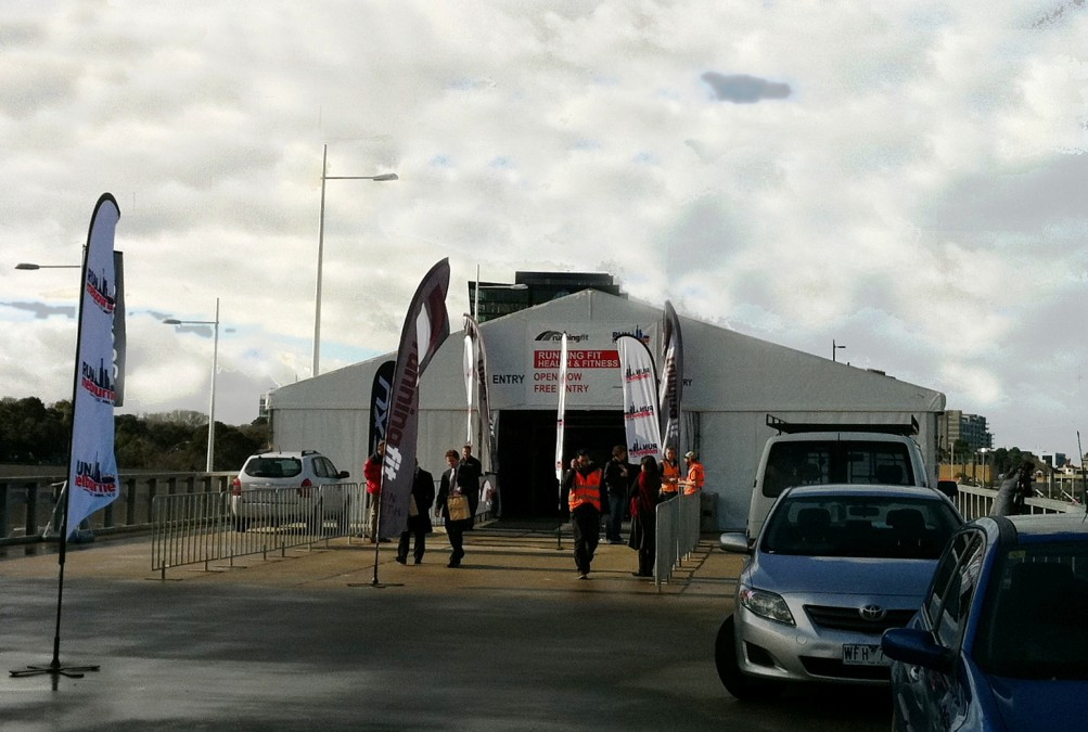 Hoecker Marquee - Expo Tent