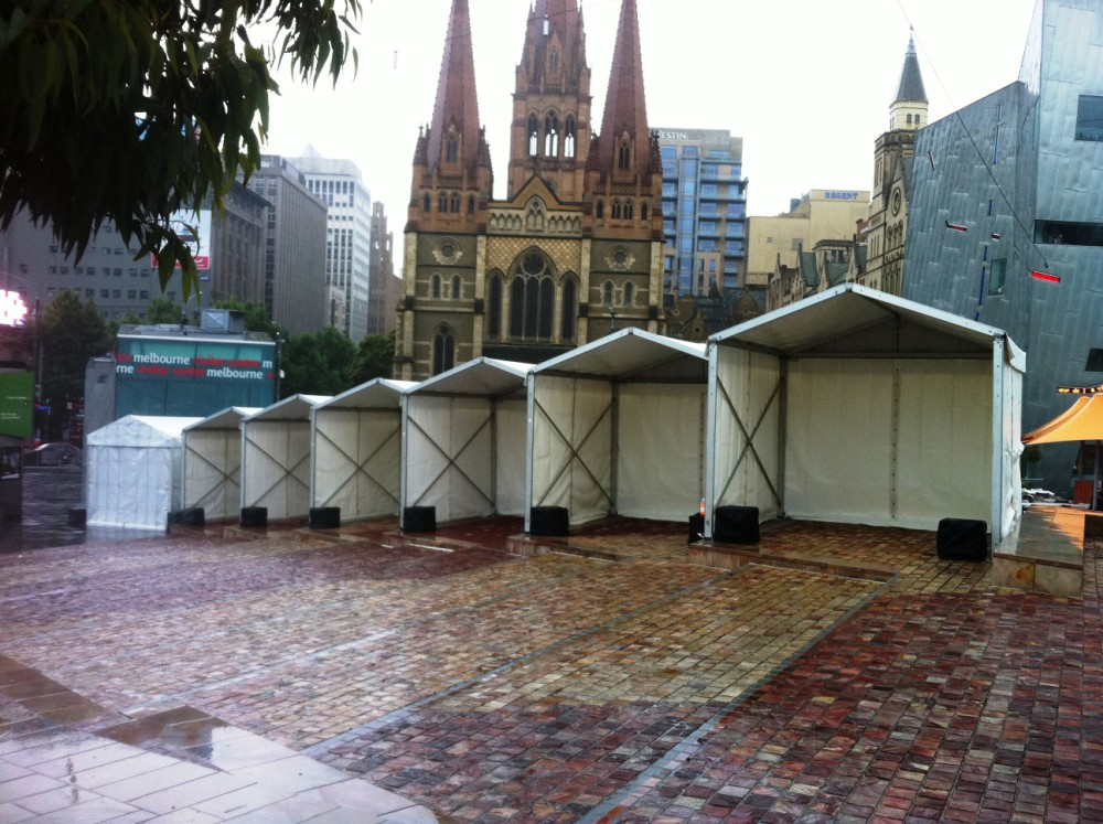 Marquee Stalls 3x3m