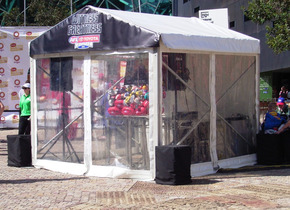 Party Tent Clear Walls 3x3m