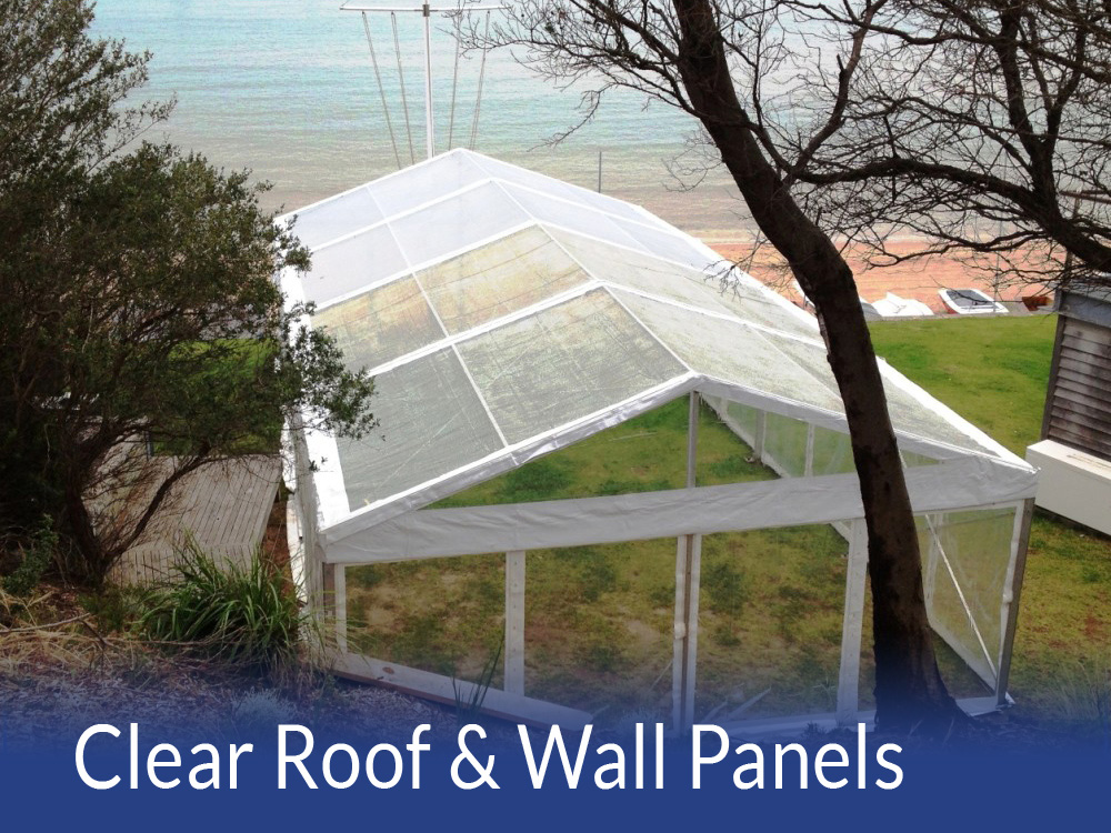 Clear Roof  Wall panels
