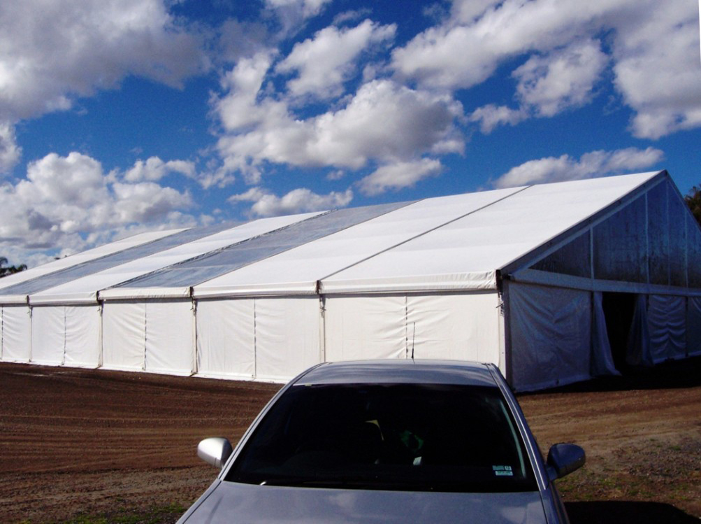 Hoecker Marquee 20x30m - Orchid Show