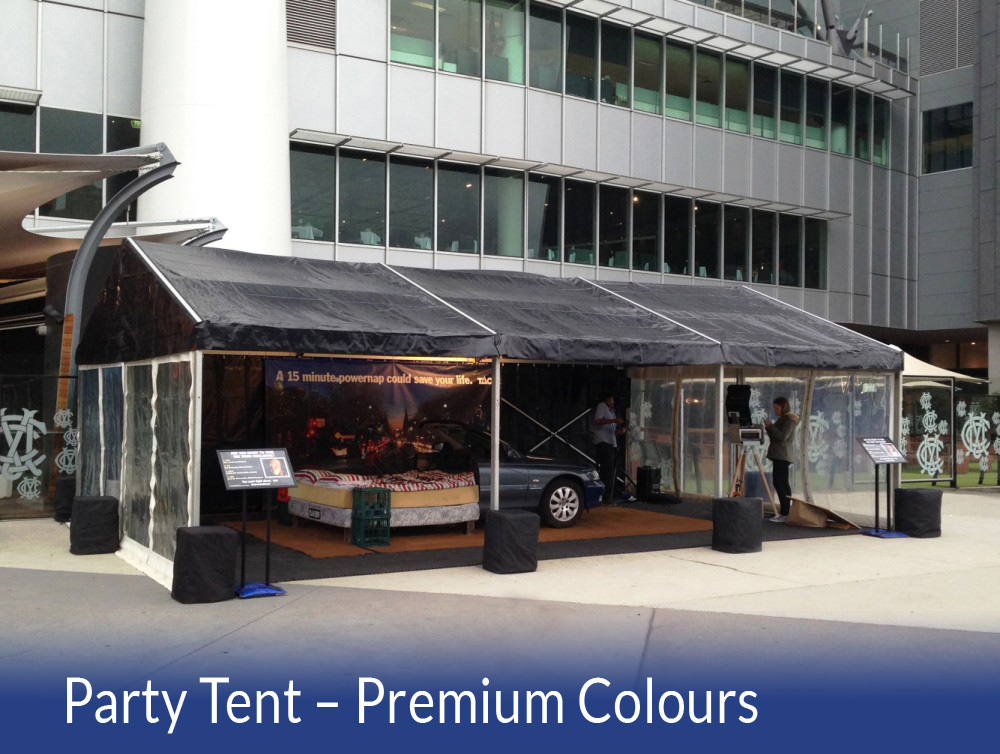 Party Tent - Premium Colours